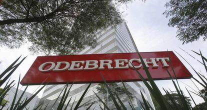 A sede da empreiteira Odebrecht, em São Paulo.