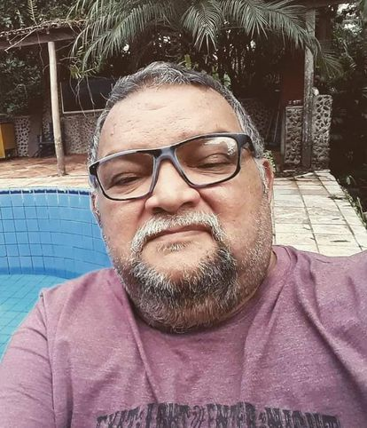O cordelista  Cláudio Cardoso.