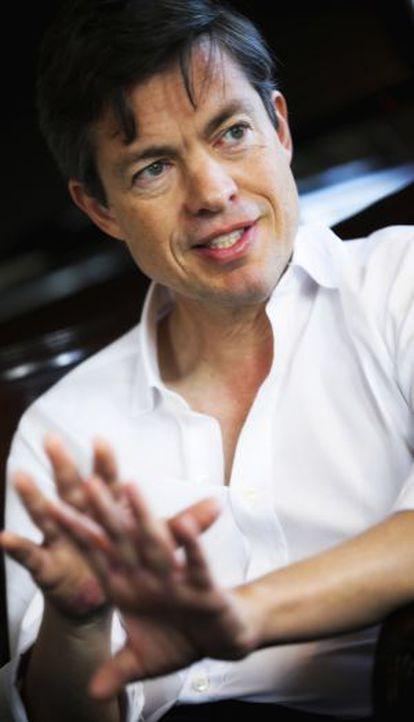 Nicolas Berggruen, durante a entrevista.
