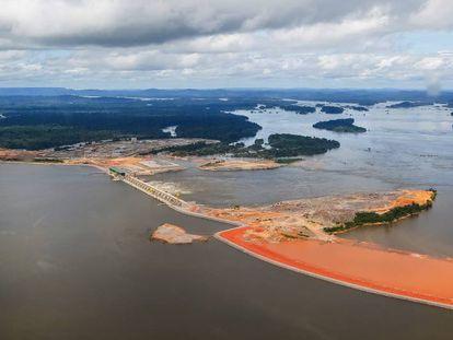 A Usina Hidrelétrica de Belo Monte.