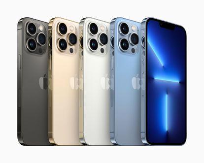Imagem do novo iPhone 13.