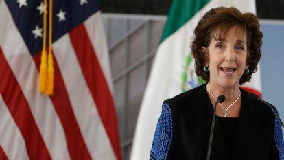 Roberta Jacobson, ex-embaixadora dos EUA no México, em uma foto de arquivo.