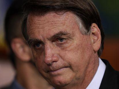 Jair Bolsonaro, em Brasília, no último dia 29.