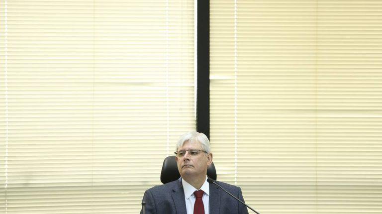O procurador Rodrigo Janot, em julho.