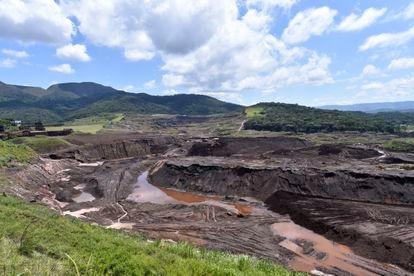 Barragem da Mina do Córrego do Feijão, um ano após a tragédia.