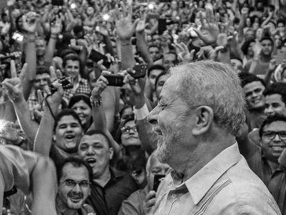 Lula no Piauí, semana passada.