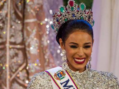 Keysi Sayago, ganhadora de Miss Venezuela.