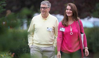 Bill e Melinda Gates, em Sun Valley