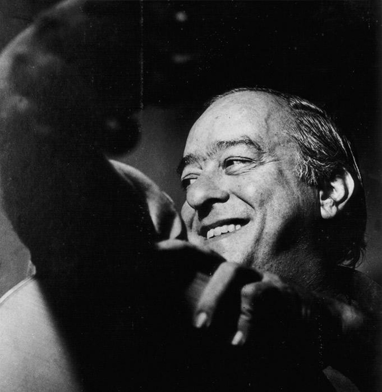 O poeta Vinicius de Moraes.