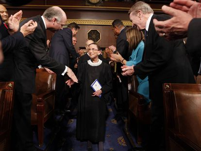 A vida de Ruth Bader Ginsburg, em imagens