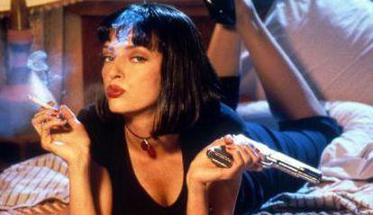 Uma Thurman em 'Pulp Fiction'.