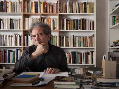O escritor argentino Ricardo Piglia, em uma imagem de 2014.