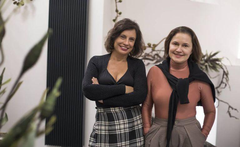 Suzana Kahn e Marina Grossi, na República Checa, semana passada.