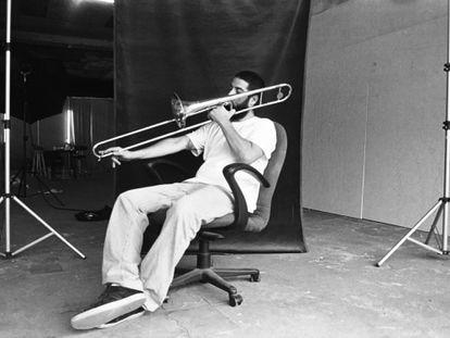 O baterista, trombonista e arranjador Antonio Neves.