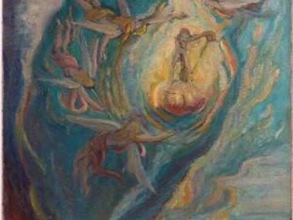 'O nascimento intrauterino de Salvador Dalí', atribuído ao artista de Figueres.