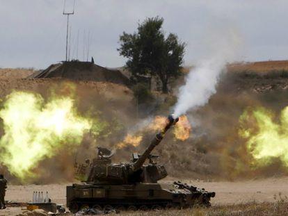 Ataque israelense na Faixa.