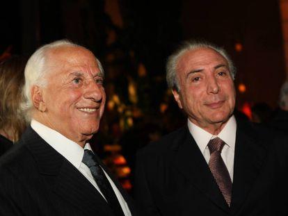 José Yunes e Michel Temer.
