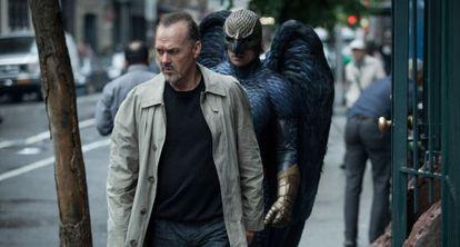 """Uma cena de """"Birdman""""."""