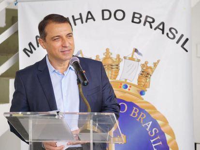 O governador de Santa Catarina, Carlos Moisés, do PSL, afastado neste sábado.