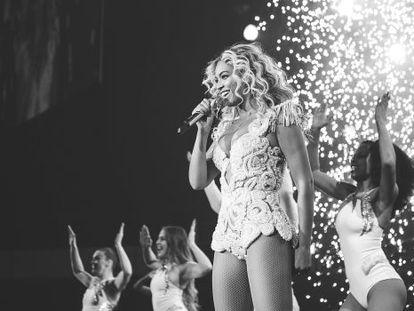 Beyoncé durante um show recente em Phoenix, nos EUA.