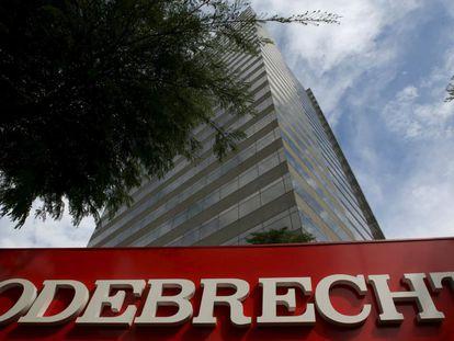 A sede da Odebrecht em São Paulo.