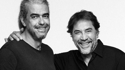 Fernando León de Aranoa e Javier Bardem, diretor e protagonista de 'El buen patrón'.