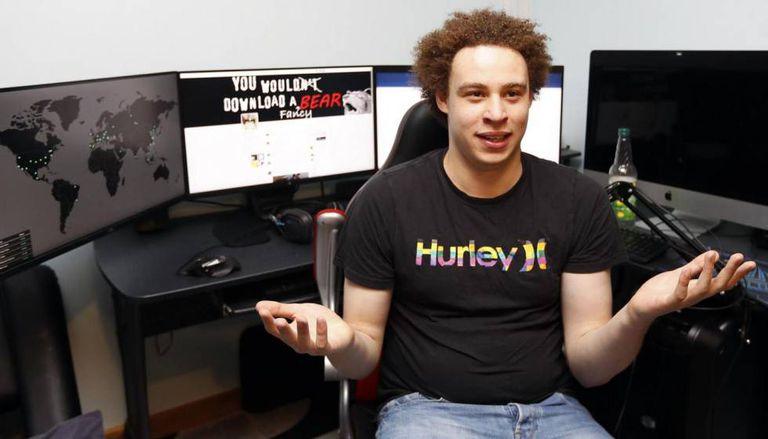 Marcus Hutchins após descobrir o antídoto contra o WannaCry.