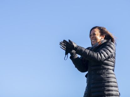 Kamala Harris participa de evento de campanha no dia 2 de novembro, na Pensilvânia.