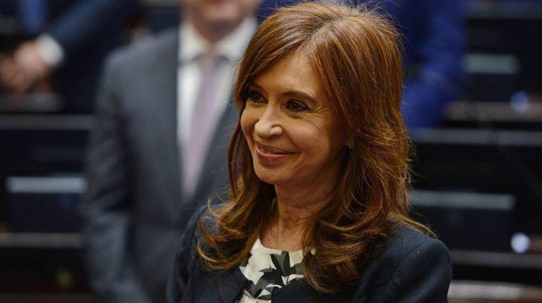 Cristina Fernández de Kirchner, numa foto de novembro