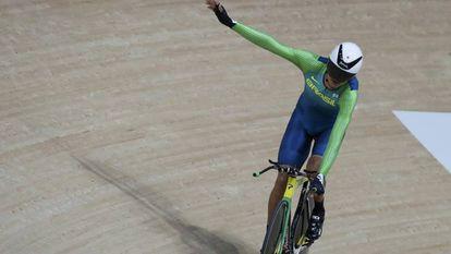 Lauro Chaman conquistou a medalha de bronze no ciclismo de estrada na modalidade contrarrelógio C4-5 (para atletas com potência muscular ou coordenação limitadas).