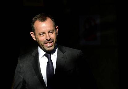 Sandro Rosell, em julho de 2014.