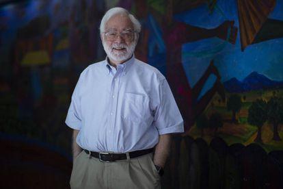 Herbert S. Klein, professor emérito da Universidade Columbia (EUA), reconhecido com o prêmio Alfonso Reyes 2019.