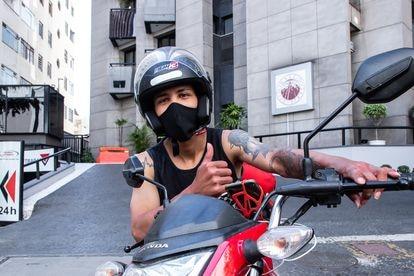 O entregador José Raimundo Correa Filho, de 26 anos.