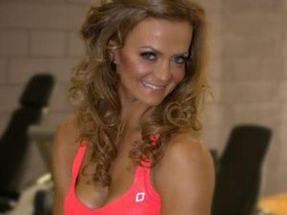 A brasileira Márcia Mikhael, em foto de seu perfil na rede Facebook.