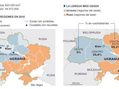 As fronteiras de um país bipolar