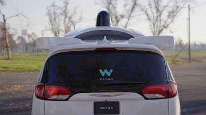 O último modelo de carro sem motorista de Google.