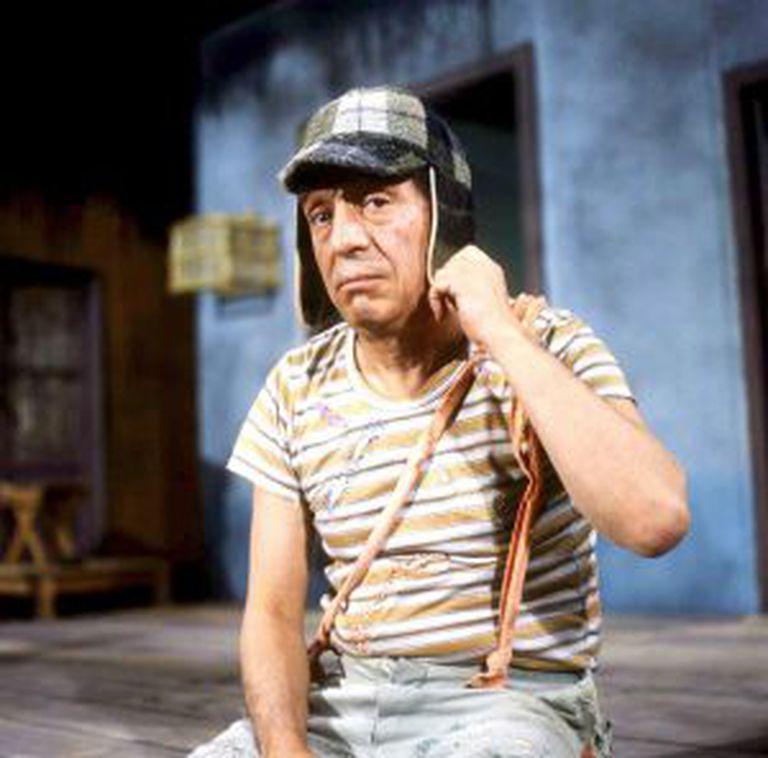 Chaves, interpretado por Roberto Bolaños, que morreu na sexta-feira.