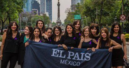 As jornalistas do EL PAÍS no México.