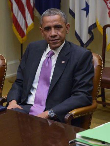 Obama, em uma reunião na terça-feira.