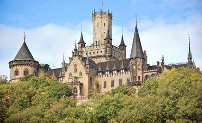 O castelo de Marienburg.