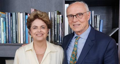 Dilma e Eduardo Suplicy, nesta quarta.