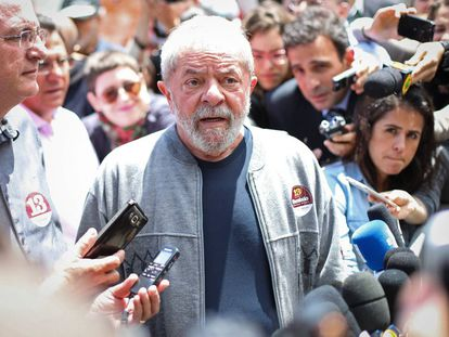 O ex-presidente Lula, em outubro do ano passado.