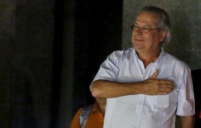A prisão de José Dirceu piorou a situação de Dilma Rousseff.