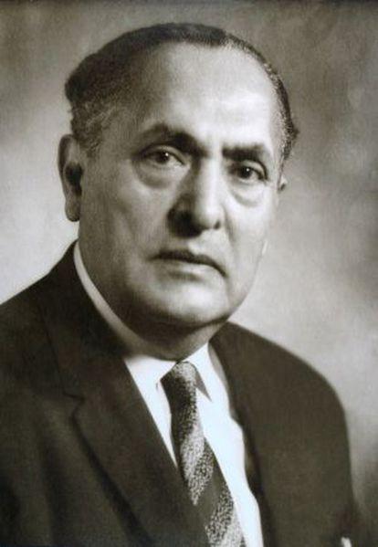 O diplomata mexicano Gilberto Bosques.
