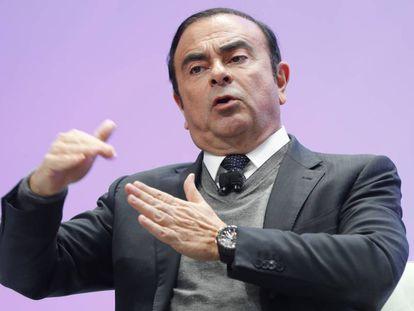 Carlos Ghosn, em uma foto de arquivo.