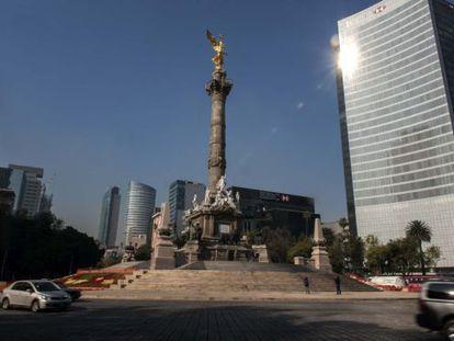 O paseo de la Reforma e Anjo da Independência
