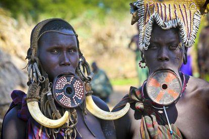 Na bacia do rio Omo, convivem algumas das tribos mais emblemáticas da África.