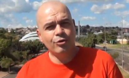 Padre Beto em frame de vídeo postado em janeiro de 2014.