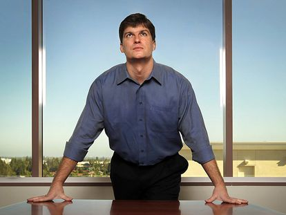 O investidor Michael Burry, em 2010.