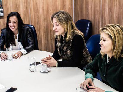 As três procuradoras que integram a força tarefa da Lava Jato